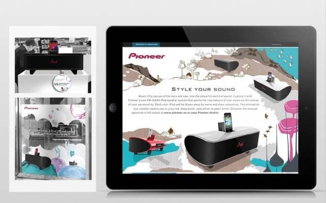 Kunde: Pioneer // Auftrag: Gestaltung eines Produktkatalogs für eine junge Zielgruppe // entstanden bei der Sixpack Werbeagentur // Mein Part // Art Direction: Idee und Design
