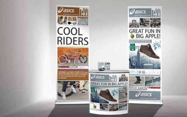 Promotionstand Asics