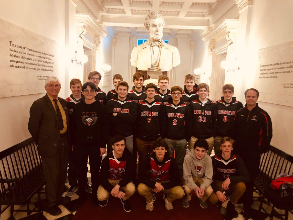 Vermont House, Senate pause to salute seven CVU fall championship teams