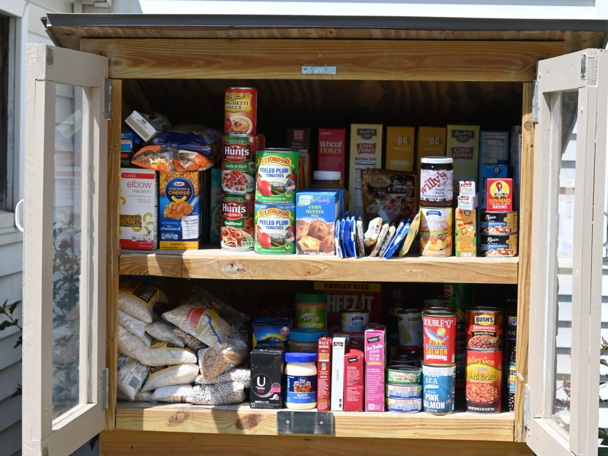 Little Free Pantry Provides Relief to Food Insecurity During Pandemic