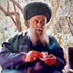 Shaykh Nazim – Drinking Coffee
