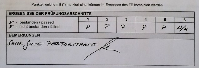 """""""Sehr gute Performance""""."""