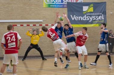 Aalbord Håndbold vs HF Mors U18-1005