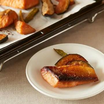 鮭と野菜の味噌漬け