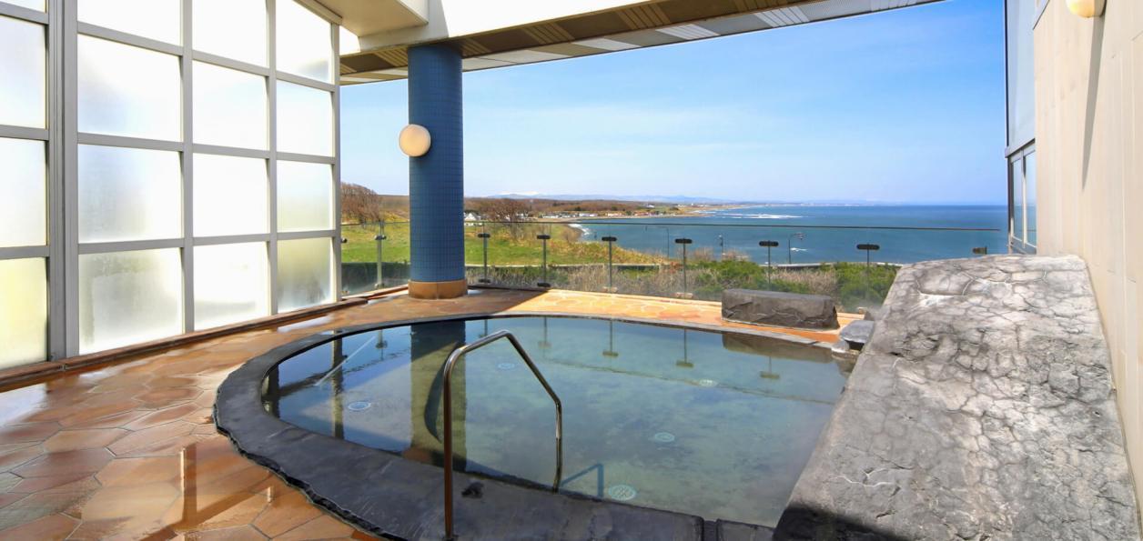 ホテル日の出岬 | オホーツク海を一望できる北海道紋別郡雄武町の天然温泉