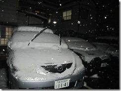 12月5日駐車場