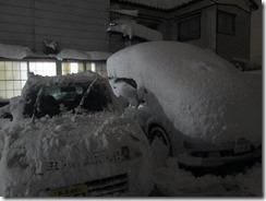 1月24日夜駐車場