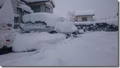 1月13日駐車場