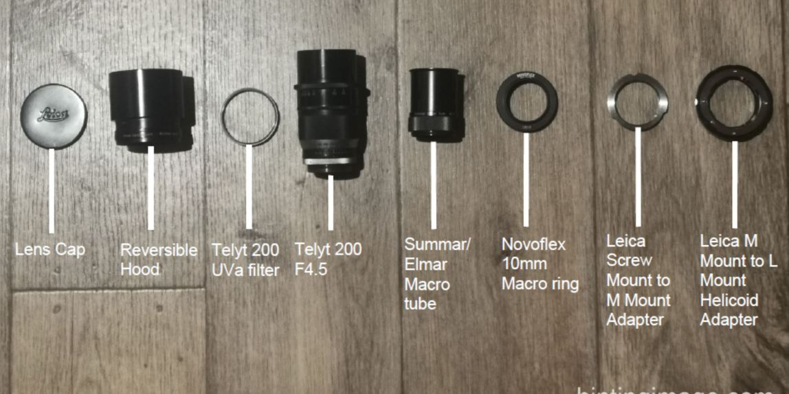 Telyt200mm adapted to L-Mount