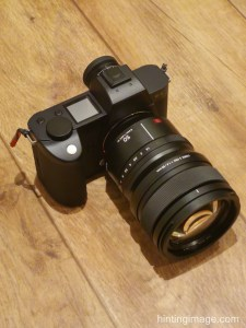 Camera from side