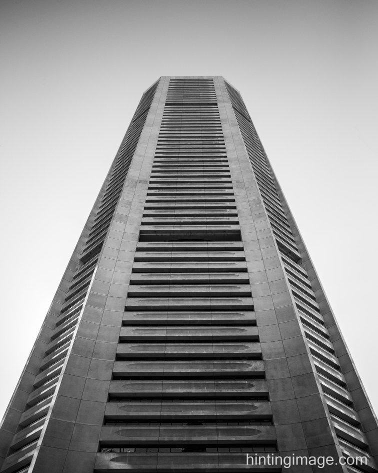 MLC Centre Sydney black and white photo