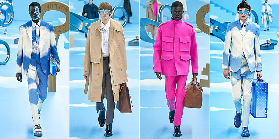 Louis Vuitton Men Fall 2020 by Virgil Abloh