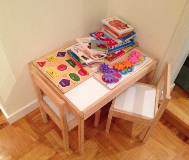 Todays Hint The Best Little Table For Toddlers