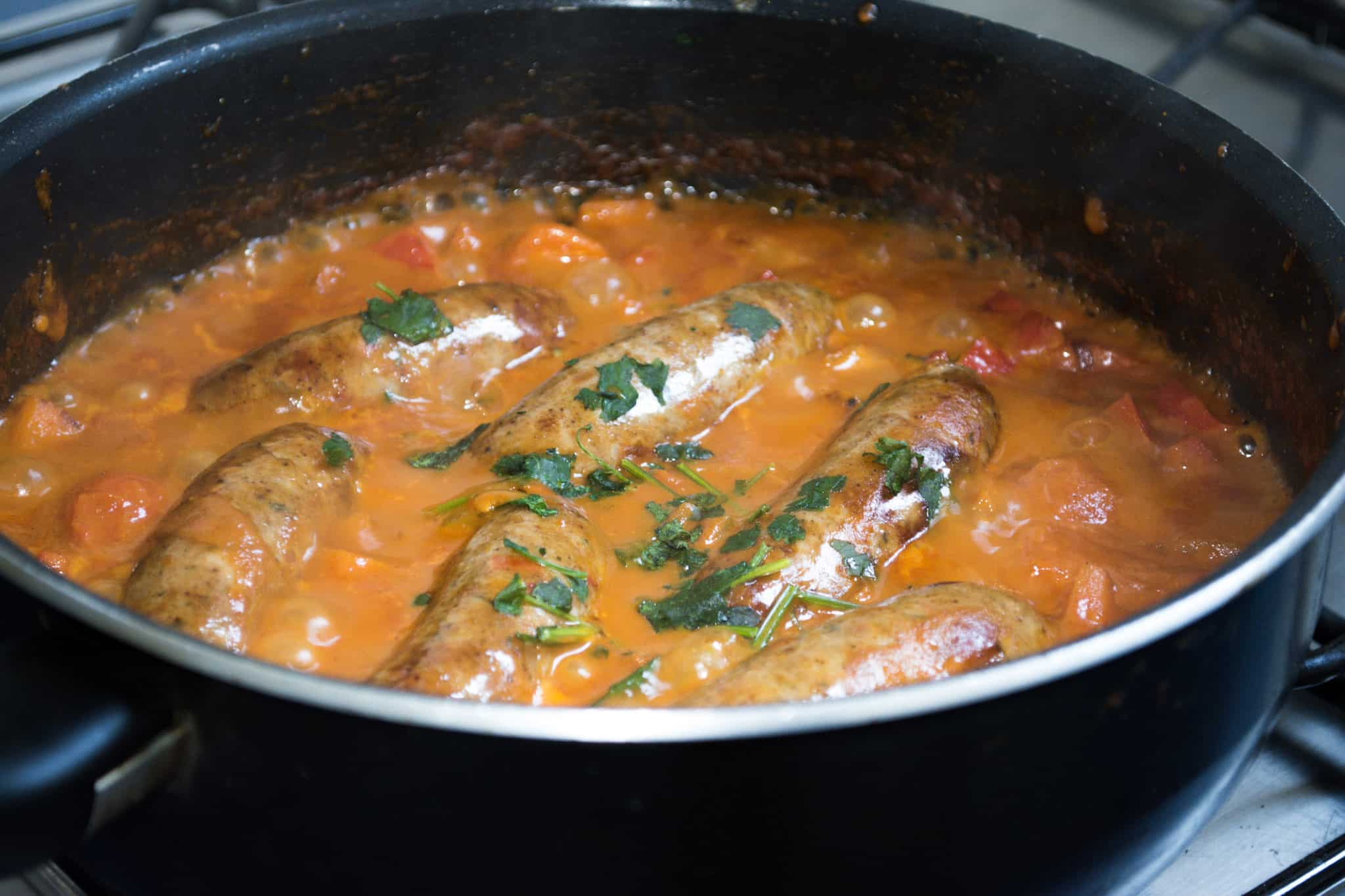 Caribbean Sausage Stew Recipe | Hint of Helen