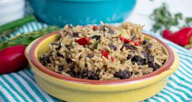 Easy Rice & Peas