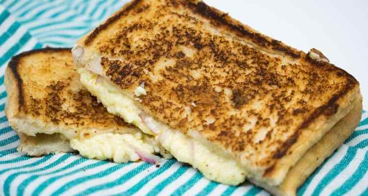 Lancashire Cheese and Onion Toastie