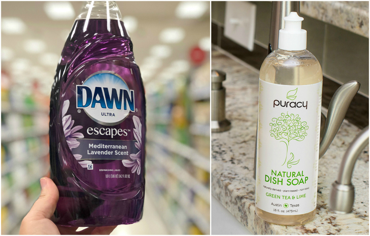 dish soap comparison
