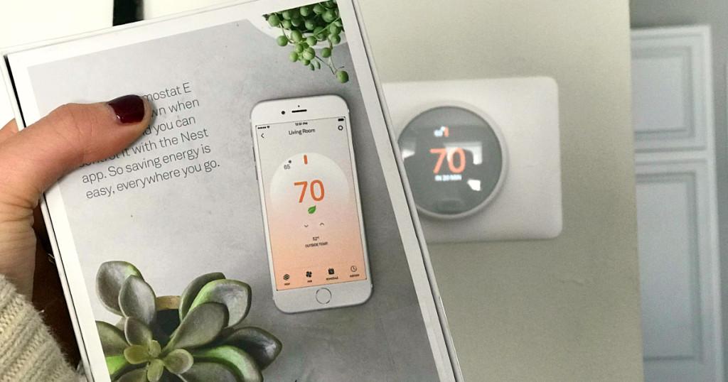 nest-e smart thermostat