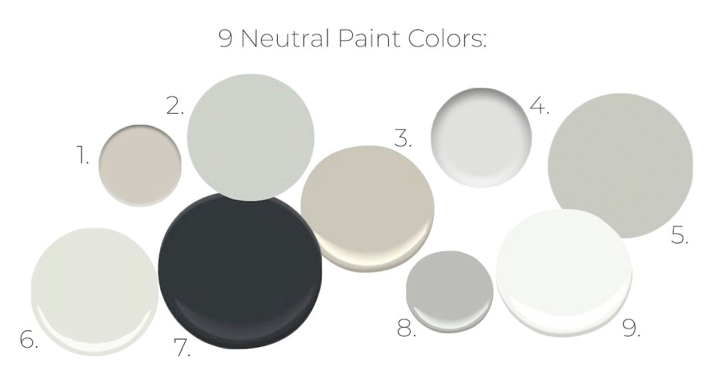9 Neutral Paint Colors Everyone Loves On Their Walls