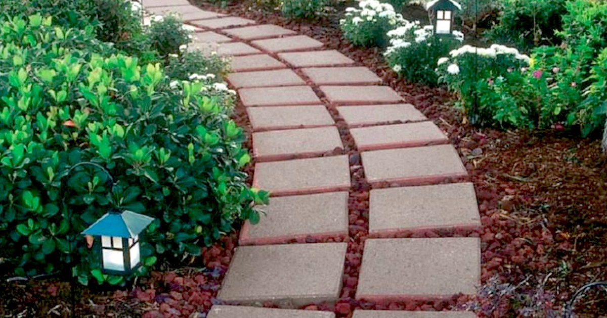 square patio paver stones only 1 each