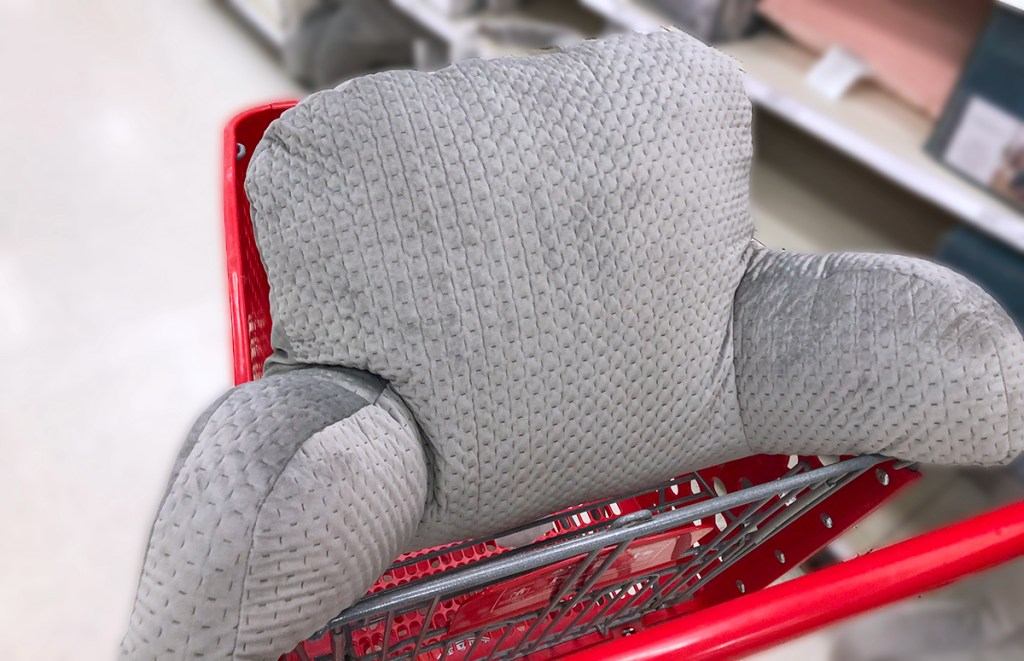 target pillows — large upright pillow with support arms