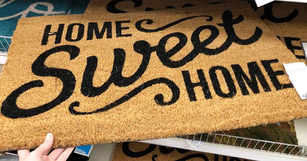 target accent pieces — home sweet home doormat