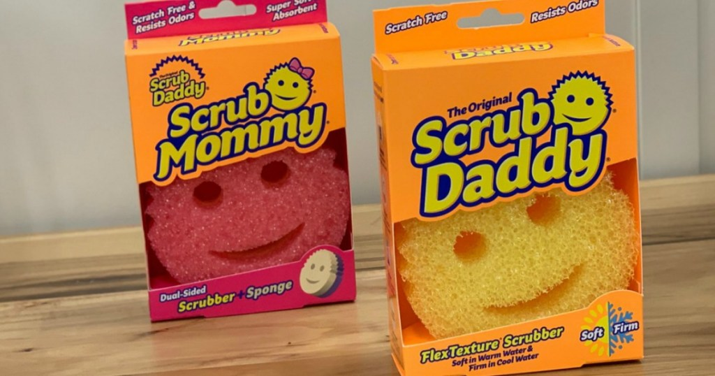 The Original Scrub Daddy & Scrub Mommy