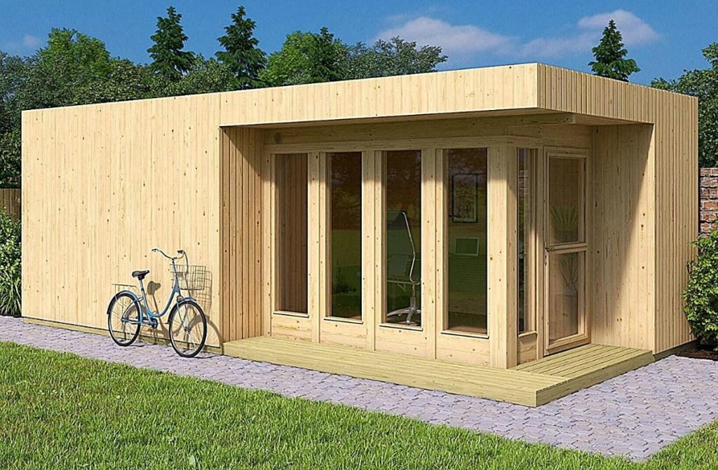 Allwood Arlanda XXL 273 sq. ft. Garden House Kit