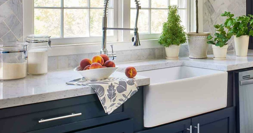 KOHLER Cast Iron Farmhouse Sink