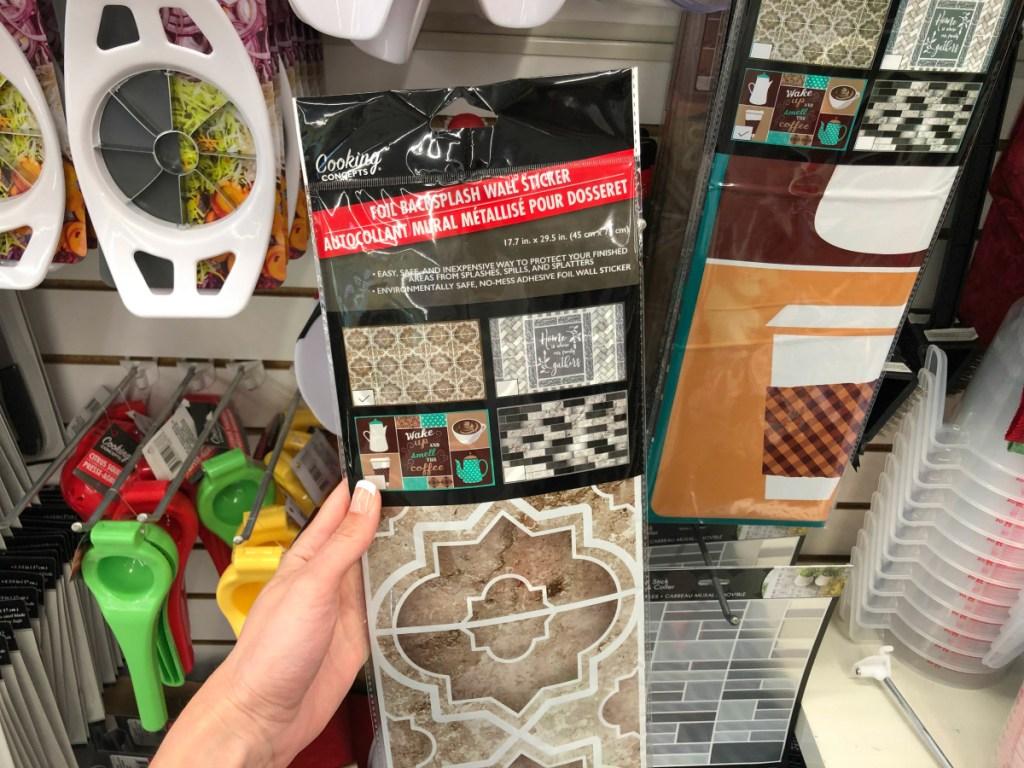 diy peel stick backsplash tiles only