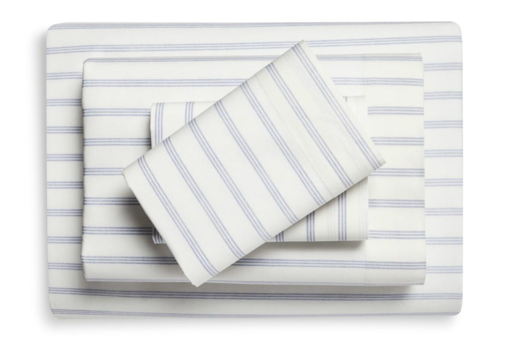 Threshold Vintage Washed Print Percale Sheet Set