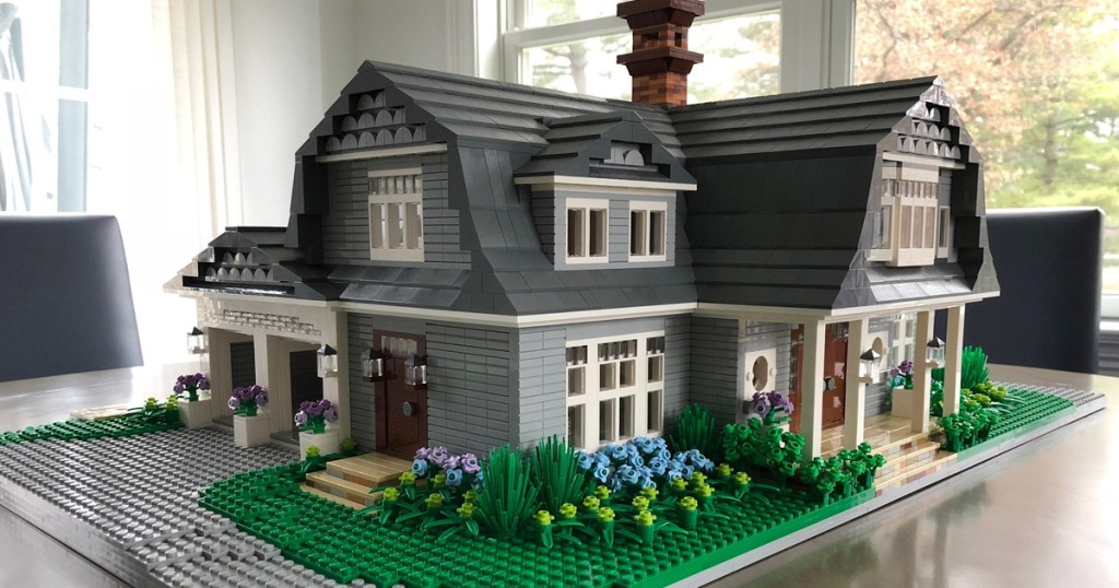 home made from LEGOs