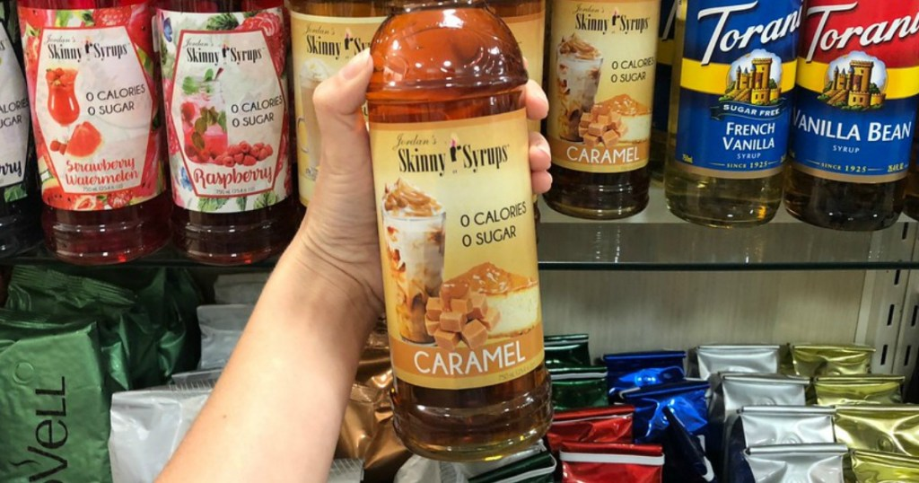 the home goods gourmet foods section is