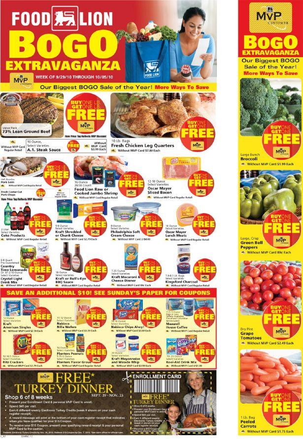 Food Lion Great Sales Week 929 105 Hip2save