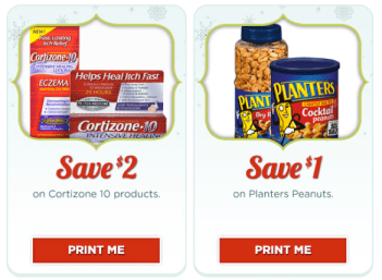 Christmas Planters Peanuts.Rite Aid Cortizone And Planters Peanuts Coupons Hip2save