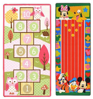 Kohls Com Kids Game Rugs 8 98 Shipped Reg 39 99