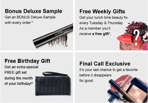 Your Purchases Will Earn You Points For FREE Rewards Certificates Youll Score A Gift During The Month Of Birthday