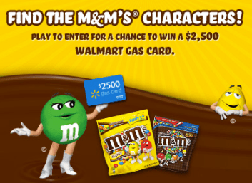 Giveaway 5 Readers Win 50 Walmart Gift Cards Find The M M S