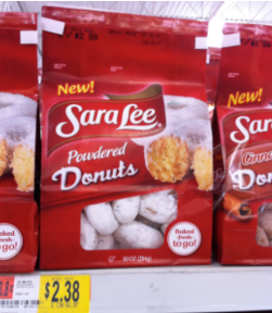 Sara Lee Powdered Donuts 10 Oz Bag 238 Use The 1 Snacks Coupon Found Here Final Cost Only 138
