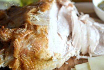 leftover turkey lunch hip2save