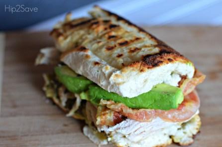Leftover turkey pesto sandwich recipe Hip2Save