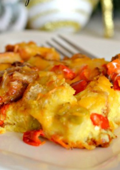 Sausage & Egg Breakfast Casserole Hip2Save