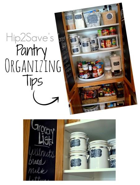 Pantry Organizing Tips Hip2Save