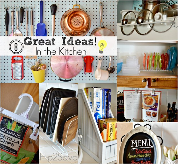 8 Great Ideas In the Kitchen by Hip2Save.com