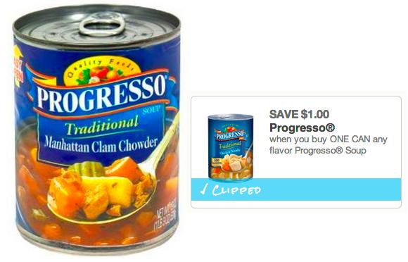 walgreens progresso soup coupons
