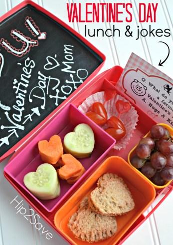 Valentine's Day Lunch & Printable Jokes Hip2Save