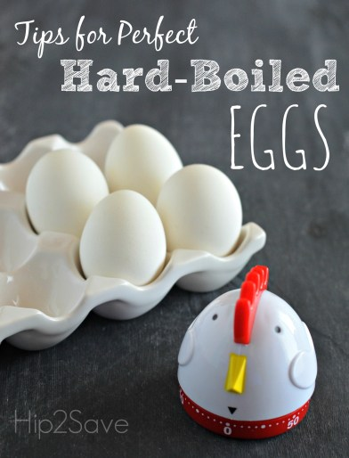 Tips for Perfect Hard-Boiled Eggs