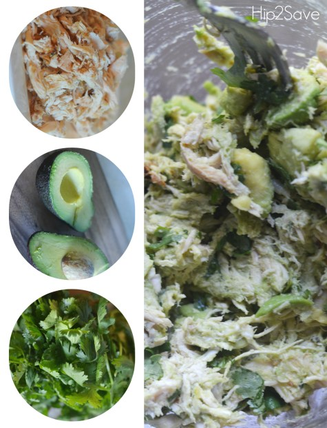 3 ingredient chicken salad Hip2Save