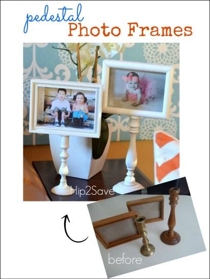 Pedestal Photo Frame Craft Hip2Save