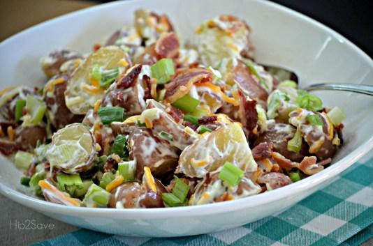 Easy Potato Salad Hip2Save Recipe